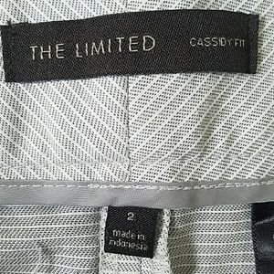 The Limited Shorts - The Limited Cassidy Fit Striped Shorts